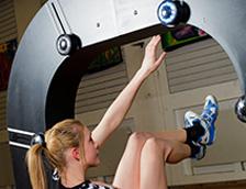 Fitlight im Fitness-Studio