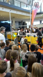 Kinder am Fitlight Spielemesse Stuttgart 2015