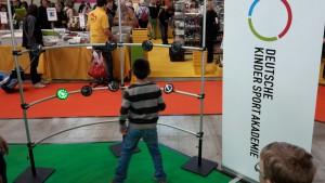 Junge am Fitlight Spielemesse Stuttgart 2015