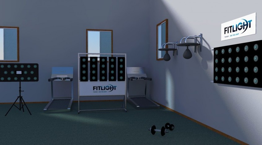 Fitlight Cardo Reaktionswand