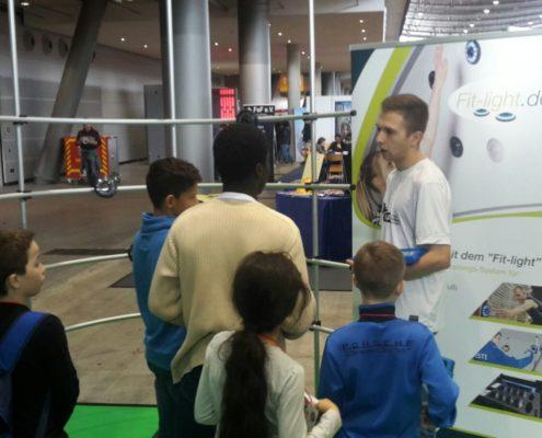 Fitlight auf der Spielemesse Stuttgart