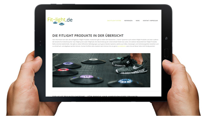 tablet fit-light.de Produkte