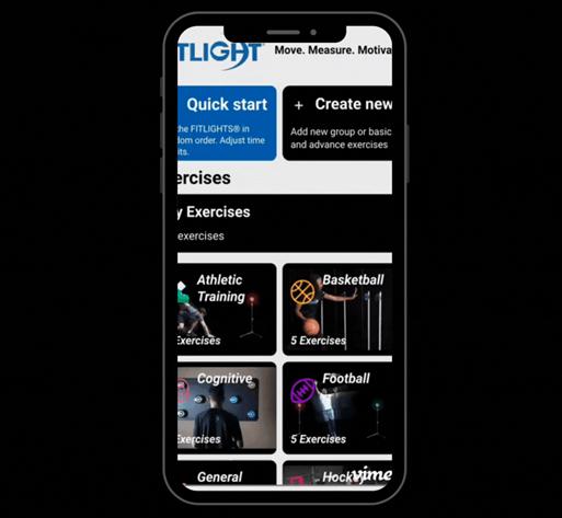 FITLIGHT App Sneak Preview